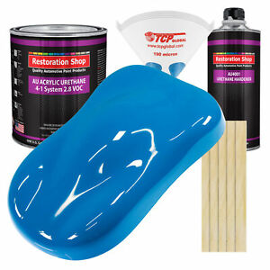 Speed Blue Gallon Kit Single Stage Acrylic Urethane Car Auto Body Paint Kit