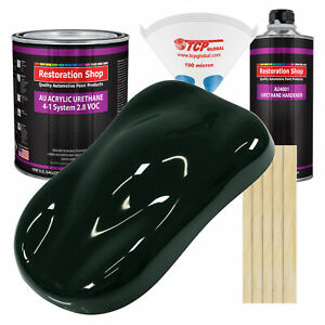 Rock Moss Green Gallon Kit Single Stage Acrylic Urethane Car Auto Paint Kit