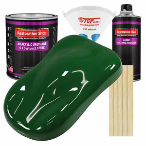 Speed Green Gallon Kit Single Stage Acrylic Urethane Car Auto Body Paint Kit