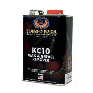 1 Gallon Wax Grease Remover Kc10 Kc 10 House Of Kolor
