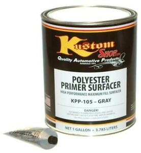 Gallon Gray Polyester Primer Filler Surfacer Auto Paint