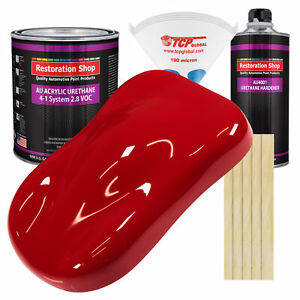 Viper Red Gallon Kit Single Stage Acrylic Urethane Car Auto Body Paint Kit