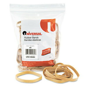 3 200 Universal Rubber Bands Size 64 3 1 2 X 1 4 Unv00464