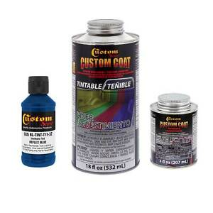 Bed Liner Custom Coat Reflex Blue 1 L Urethane Spray On Truck Kit