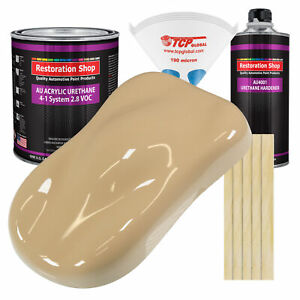 Shoreline Beige Gallon Kit Single Stage Acrylic Urethane Car Auto Paint Kit