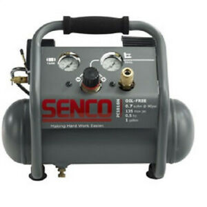 Senco 0 5 Hp 1 Gal Finish And Trim Air Compressor Pc1010n Reconditioned