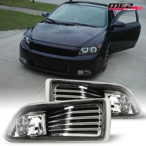 For 2005 2010 Scion Tc Oe Factory Fit Fog Light Bumper Kit Clear Lens