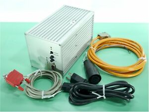 Isel Stepper Motor Controller driver Single Axis C Series It116g With Cables