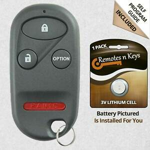 For 1996 1997 1998 1999 2000 Honda Accord Civic Cr V Odyssey Remote Key Fob