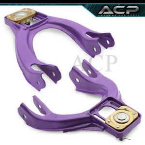 92 95 Honda Civic 93 97 Del Sol Racing Adjustable Front Camber Arm Kit Purple