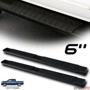 6 Oe Aluminum Steel Black Side Step Running Boards 07 18 Silverado Sierra Crew