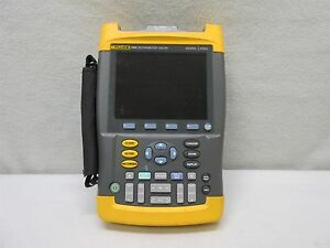 Fluke 199c 2 Ch Digital Scopemeter W Color Display 200mhz 2 5gs s
