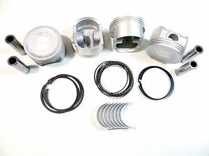Upgraded Piston Ring Rod Bearing Kit Std 01 1 7l Honda Civic Dx Ex Hx Lx D17a