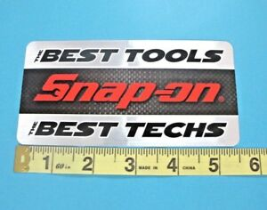 Genuine Official Snap On Tools Logo Decal The Best Tools The Best Techs New