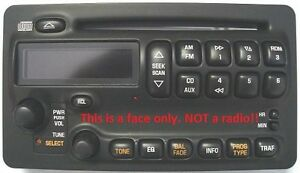 Pontiac Black Cd Radio Face Have Worn Buttons Solve It With This New Oem Part