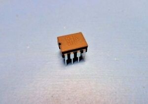 1 Ad848sq 175mhz Op Amp Precision High Speed Low Power Monolithic 8 pin Cerdip