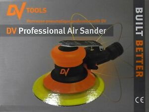 Dv Tools T4000 6 Composite Heavy Duty Random Orbital Air Sander
