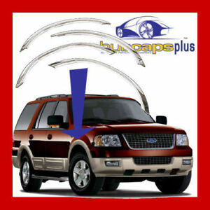 For 03 06 Ford Expedition Stainless Steel Fender Trim
