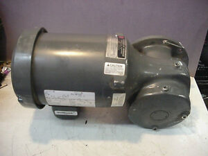 New Emerson E180 Us Motor 3ph 5hp Syncrogear 6wvp E453 Speed Reducer 87 1 Ratio