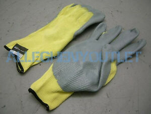 12 Pair North 100 Kevlar Cut Resistant Nitrile Coated Work Gloves Xxl 2xl New