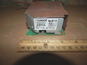 Condor Glm75 24 24 Volt Dc Power Supply