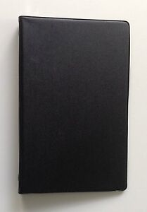 Mead 46000 Small 6 ring Assorted Colors Vinyl Loose leaf Memo Notebook With 3x5