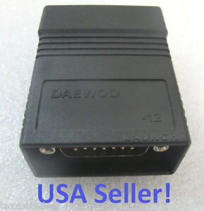 Daewoo Scanner Adapter For Launch X431 Master Diagun Iii X431 Iv Pad Idiag New