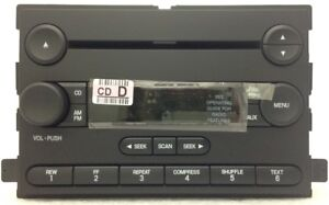 Cd Radio New Oem Factory Fomoco Stereo Fits 2005 2007 Ford F250 F350 Truck
