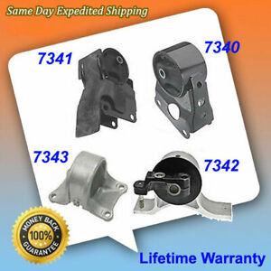Engine Motor Trans Mount Kit 4pc Set For 02 2006 Nissan Altima 2 5l Auto M029