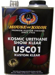 Gallon Usc01 Kosmic Urethane Show Klear House Of Kolor Shimrin 2 Clear