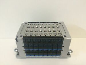 New Take Off Festo 24vdc Pneumatic Manifold Valve Cpv10 vi 8 terminal