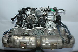 Porsche 997 Turbo Engine 997100970lx Complete Ready To Bolt In