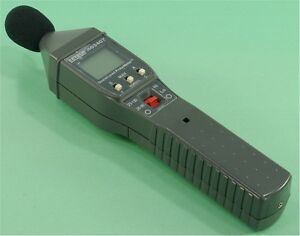 New Extech 403407 Sound Level Probe Meter open Box free Ship