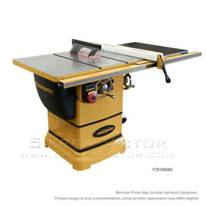Powermatic Table Saw With 30 Accu fence System And Riving Knife 1791000k