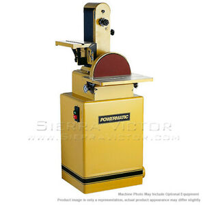 6 X 48 Belt 12 Disc Powermatic 31a Sander With Magnetic Switch