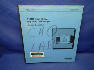 Tektronix 11401 11402 Digitizing Oscilloscopes Service Reference