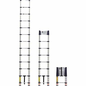Xtend Climb Heavy duty Telescoping Ladder 12 5ftl 300lb Cap