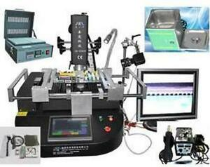 Bga Rework Repair Station Zm r5860c Reballing Machine Training Accessories Eu