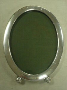 Vintage William B Kerr Co Sterling Silver Oval Picture Frame 75 3 Grams