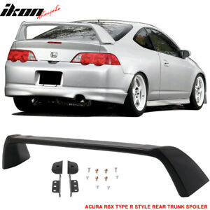 Fits 02 06 Acura Rsx Dc5 Type R Tr Style Rear Trunk Spoiler Unpainted Abs