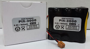 Amano Pix 3000x Operational Reserve Battery Amano Ajr 111000 Compatible