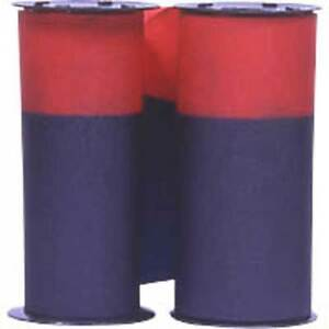 2 Pack Acroprint 125 150 Time Recorder Ribbon Purple red Ink 20 0106 008