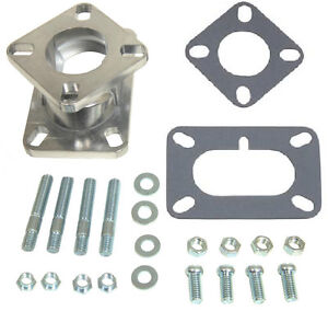 Carb Carburetor Adapter 2bbl Barrel Rochester Stromberg 1994 1997 1998 94 97 98