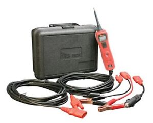 Power Probe Iii 3 Pp319ftc 12 24 Volt Lead Tester In Red W Case