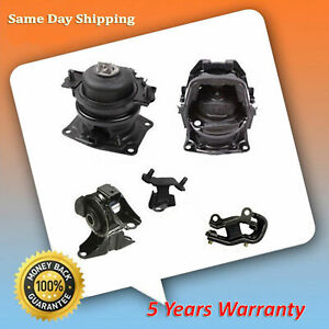 For 05 06 Honda Odyssey 3 5l Touring Ex l Engine Motor Trans Mount Set M377