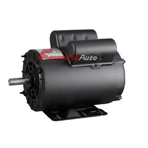 5 Hp Spl 3450 Rpm Air Compressor 60 Hz Electric Motor 208 230 Volts B385