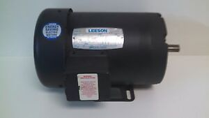 New Old Stock Leeson 1hp 1140rpm Ac Motor 113933 C6t11fb13c