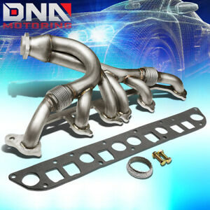 For 1991 1999 Jeep Cherokee Wrangler 4 0l L6 Tj Yj Xj Zj Manifold Exhaust Header
