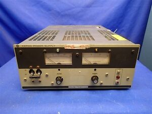 Kepco Ate 36 15m 0 36v 0 15a Dc Power Supply W leads