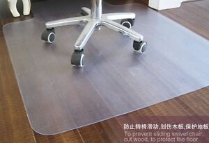 New Pvc Chair Mat 46 X 60 With Lip For Hard Floors 2 00mm Thick